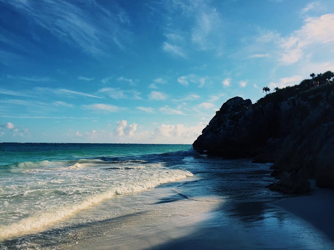 _2017__._._._.__view__instatraveling__sea__beach__mexico__tulum