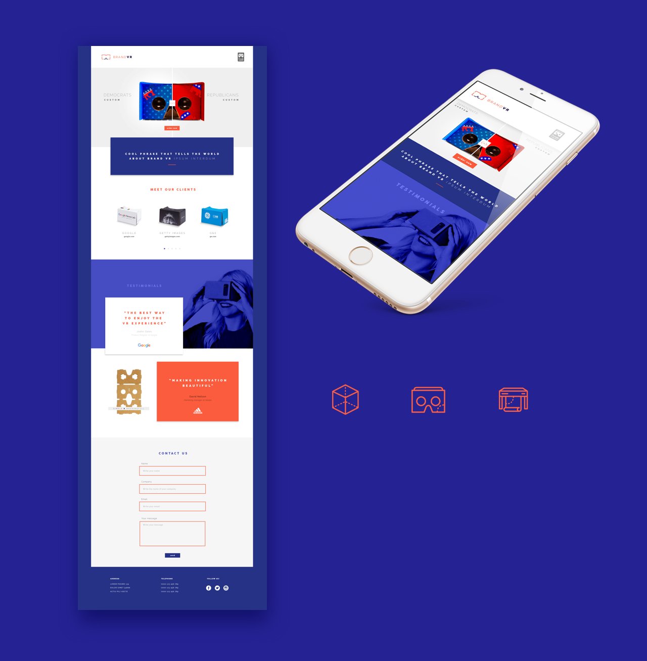 BrandVR-Website