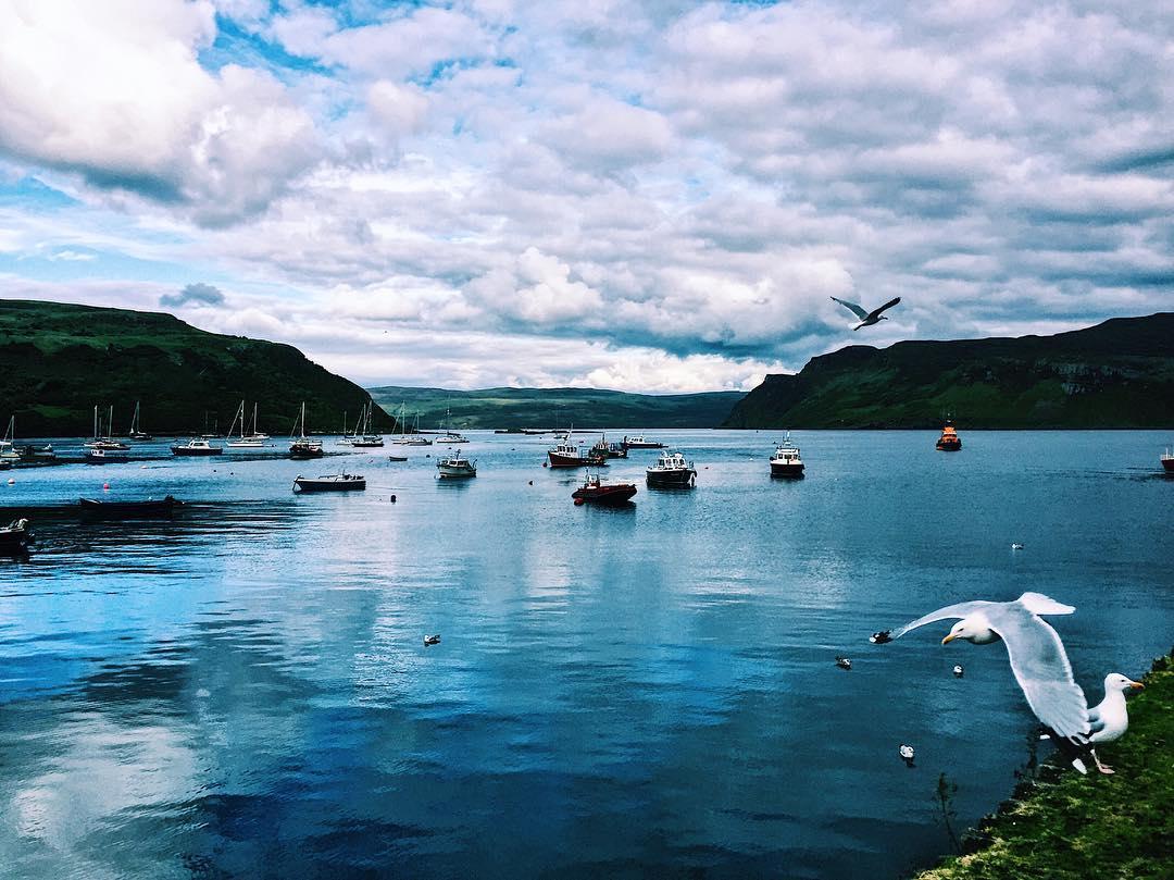 Too_much_green__now_a_bit_of_blue_____._._._.__isleofskye__mountains__highlands__scotland___nature__travel___travels__landscape__traveling__digitalnomad__travelgirl__travelalone__instavi